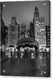 Chicago's Bean Acrylic Print