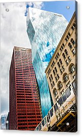 Chicago's South Wabash Avenue  Acrylic Print by Semmick Photo