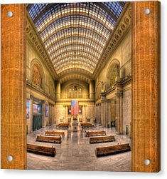 Chicagos Union Station Acrylic Print