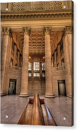 Chicagos Union Station Waiting Hall Acrylic Print