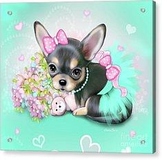 Chichi Sweetie Acrylic Print