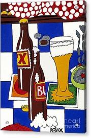 Chichis Y Cervesas Acrylic Print