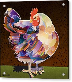 Chicken From Jamestown Acrylic Print