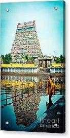 Chidambaram Temple Lord Shiva India Acrylic Print