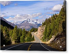 Acrylic Print featuring the photograph Chief Joseph Scenic Highway by John Gilbert