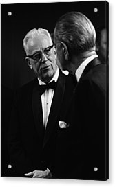 Chief Justice Earl Warren 1891-1974 Acrylic Print by Everett