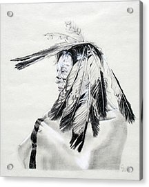 Chief Acrylic Print by Mayhem Mediums