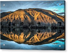 Chief Timothy Reflection Acrylic Print