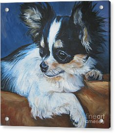 Chihuahua Acrylic Print by Lee Ann Shepard