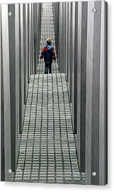 Child In Berlin Acrylic Print by KG Thienemann