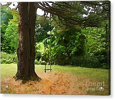 Acrylic Print featuring the photograph Childhood by Betsy Zimmerli
