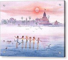 Childhood Memories Acrylic Print by John YATO