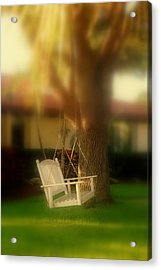 Childhood Memories Acrylic Print by Susanne Van Hulst