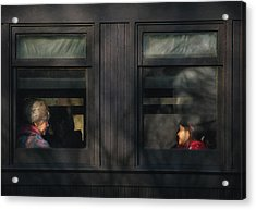 Children - Generations Acrylic Print by Mike Savad