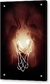 Children Of Fire Acrylic Print