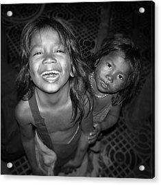 Children Of Phnom Penh Acrylic Print