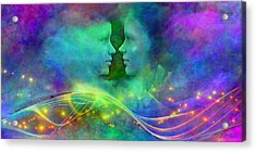 Children Of The Rainbow Acrylic Print by Michael Durst