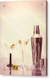 Chilled Martinis Acrylic Print