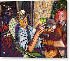 Chillin Acrylic Print by Russell Pierce