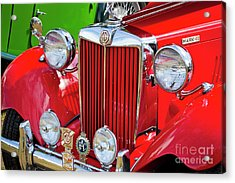 Acrylic Print featuring the photograph Chillipepper 1952 Mg by Chris Dutton