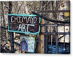 Chimayo Art Acrylic Print
