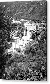 Chimes Bell Tower On Catalina Island Acrylic Print by Paul Velgos