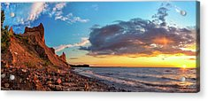 Chimney Bluffs Acrylic Print