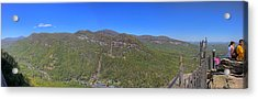 Chimney Mountain Acrylic Print