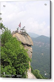 Chimney Rock 2 Acrylic Print