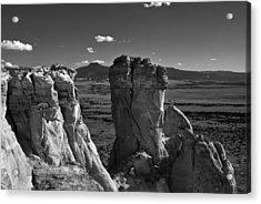Chimney Rock And Cerro Pedernal 3 Acrylic Print