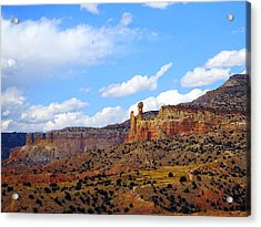 Chimney Rock Ghost Ranch New Mexico Acrylic Print