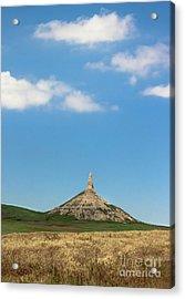 Chimney Rock Nebraska Acrylic Print