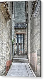 China Alley Acrylic Print