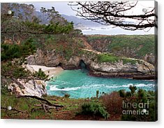 China Cove At Point Lobos Acrylic Print