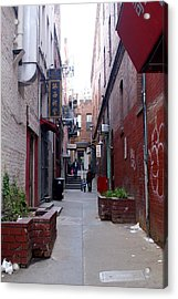 Chinatown Alley Acrylic Print by Sonja Anderson