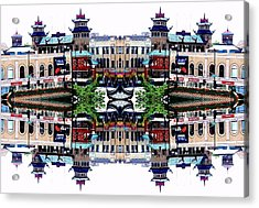 Acrylic Print featuring the photograph Chinatown Chicago 2 by Marianne Dow