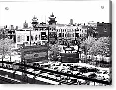 Acrylic Print featuring the photograph Chinatown Chicago 4 by Marianne Dow