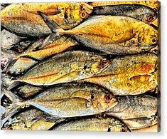 Chinatown Fish Market Nyc Acrylic Print