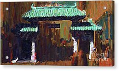 Chinatown Gate Acrylic Print by Wingsdomain Art and Photography