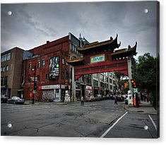 Chinatown Montreal 001 Acrylic Print