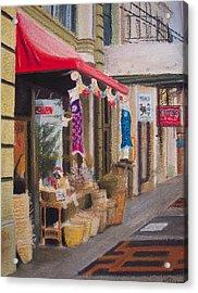 Chinatown Acrylic Print by Victoria Heryet