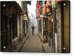 Chinese Alley Acrylic Print
