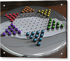 Chinese Checkers Acrylic Print