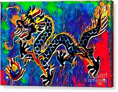 Chinese Dragon Acrylic Print