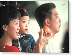 Acrylic Print featuring the photograph Chinese Family by Douglas Pike