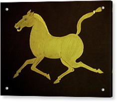 Chinese Horse Acrylic Print