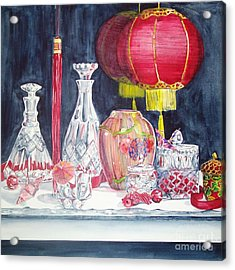 Chinese Lanterns No. 2 Acrylic Print
