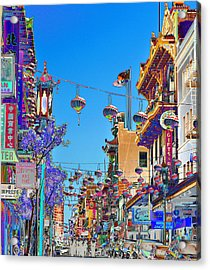 Chinese Funeral Acrylic Print