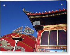 Chinese London Acrylic Print by Jez C Self