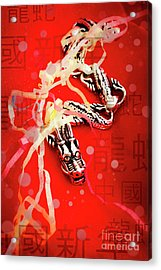 Chinese New Year Background Acrylic Print